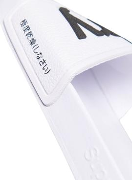 Flip flops Superdry Eva Pool Bianco per Donna