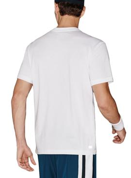 T- Shirt Lacoste Sport TH7618 Bianco