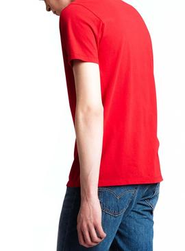 T-Shirt Levis Icon Rosso Man