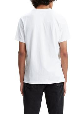T-Shirt Levis Relaxed Baby Tab Bianco Uomo