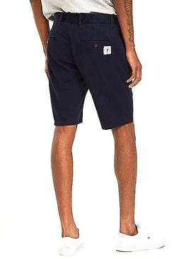Shorts Tommy Jeans Essential Chino Blu Navy Uomo