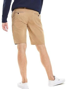 Shorts Tommy Jeans Essential Chino Marrone Uomo