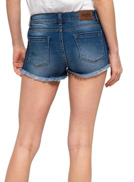 Shorts Superdry Denim Hot Donna