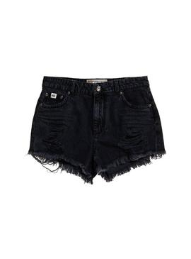 Shorts Superdry Eliza Cut Black per le donne