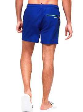 Swimsuit Superdry Volley Blu Uomo