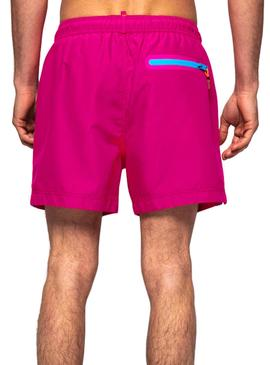 Swimsuit Superdry Volley Rosa Uomo