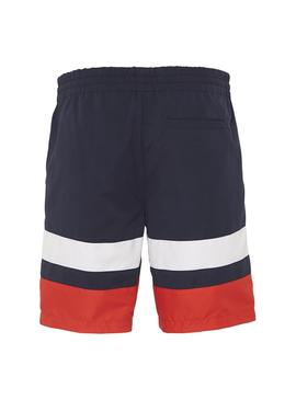 Shorts Tommy Jeans Reversibile Colorblock Man