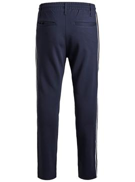 Pantaloni Jack and Jones Vega Blu Navy Bambino