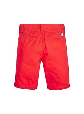 Shorts Tommy Hilfiger Essential Twill Chino Rosso
