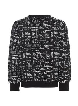 Sweatshirt Name It Molando Black