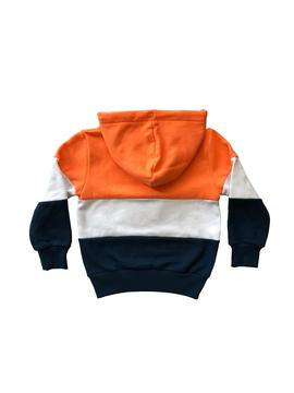 Felpe Rompiente Clothing Fonfo Orange Kids