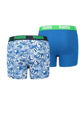 Pack Boxer Puma Play Loud Blue
