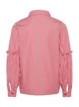 Camicia Name It Liber Frill Rosso