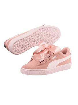 Sneaker Heart Puma Suede Jewel JR Peach