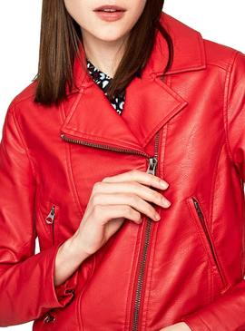 Giacca Pepe Jeans Letitia Rosso Donna