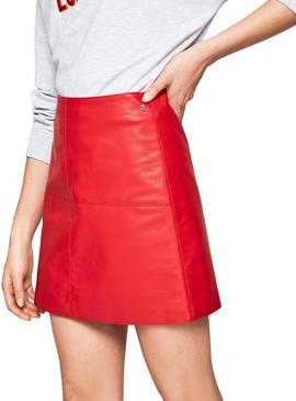 Gonna Pepe Jeans Henar Rosso Donna