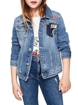 Giubbotto Pepe Jeans New Berry Patch Bambina