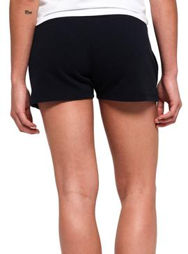 Short Superdry Track e Field Marino Donna