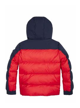 Giubbotto Tommy Hilfiger Mixed Popover Rosso
