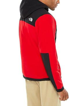 Giacca The North Face Denali Rosso