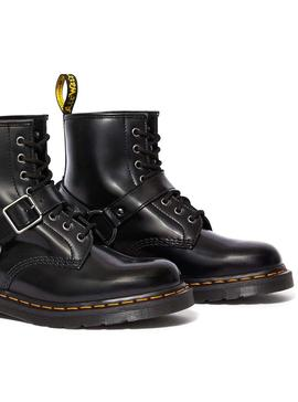 Stivales Dr Martens 1460 Harness Black Donna