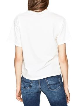 T-Shirt Pepe Jeans Musete Bianco Donna