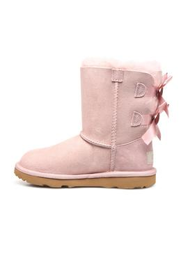 Stivales UGG Bailey Bow II Pink Bambina