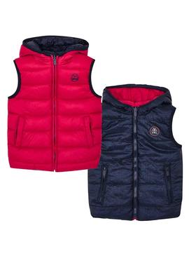 Gilet Mayoral reversibile Rosso Per Bambino