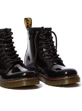 Stivales Dr Martens Junior 1460 Patent Black Bambi