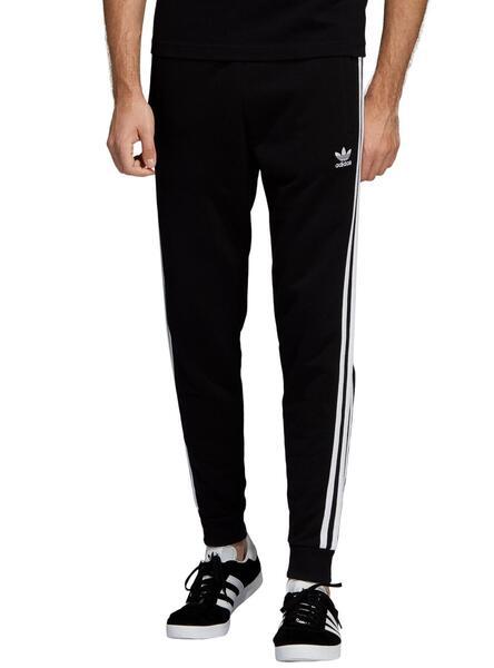 pantaloni adidas grigio strisce nere