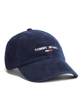 Cappellino Tommy Jeans Pana Blu Uomo