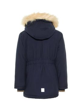 Parka Name It Moa Blue Bambina