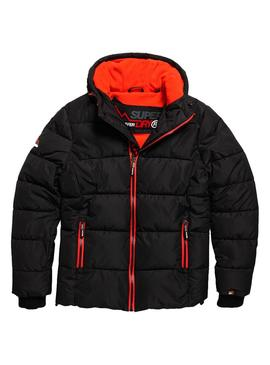 Giacca Superdry Sports Puffer nero Uomo