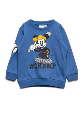 Felpe Name It Mickey Bently Blue Bambino