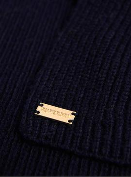 Sciarpa Superdry Heritage Navy Donna