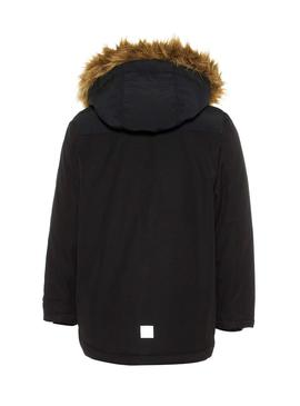 Parka Name It Malien Black Bambino