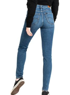 Jeans Lee Scarlett High Mid Donna