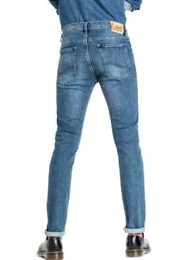 Lee Pantaloni Luke Mid Denim Uomo