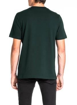 T-Shirt Lee Tech Verde Uomo