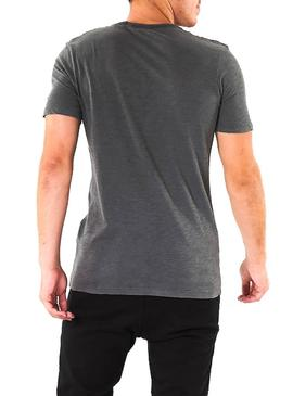 T-Shirt Jack and Jones Kally Black Uomo