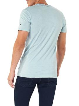 T-Shirt Jack and Jones Kally Blu Uomo