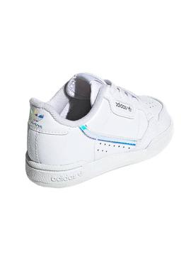 Sneaker Adidas Continental 80E Bianco Kids