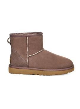 Stivales UGG W Classic Mini Brown Donna