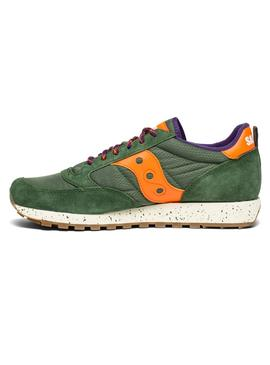 Sneaker Saucony Jazz Original Verde Orange