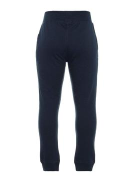 Pantaloni Name It Sweat Blu Navy Bambino