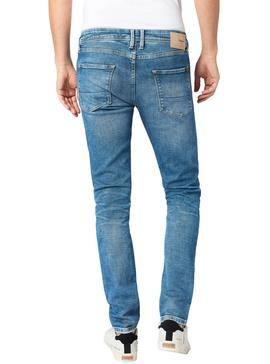 Jeans Pepe Jeans Finsbury Blu Uomo