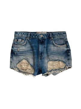 Shorts Superdry Eliza Lace Woman