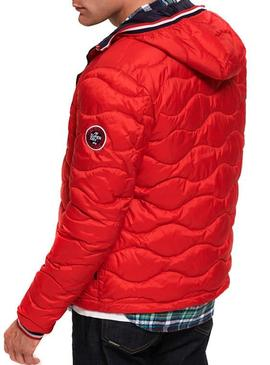 Giubbotto Superdry Wave Rosso