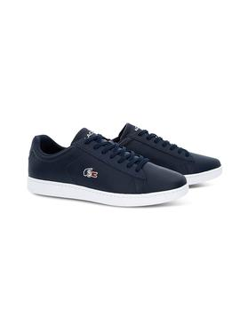 Sneaker Lacoste Carnaby France Navy Uomo