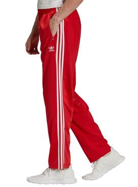 pantaloni uomo adidas rossi